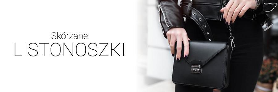 a7a646336168b Akcesoria Paski  Torebki Listonoszki Skórzane