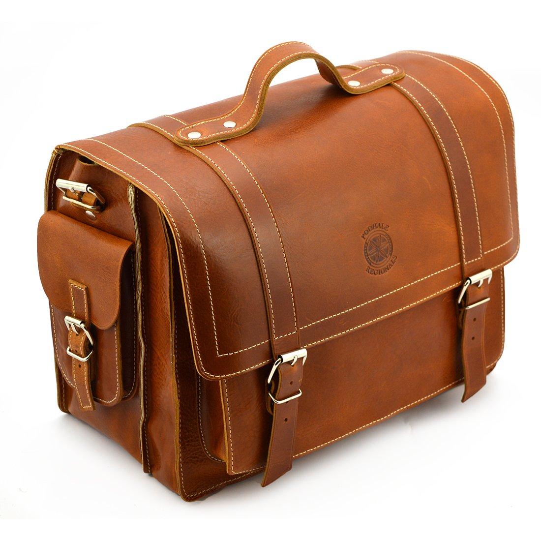 3494570c21b25 Klasyczna torba Podhale Regionals b918 koniak - Kup teraz Online
