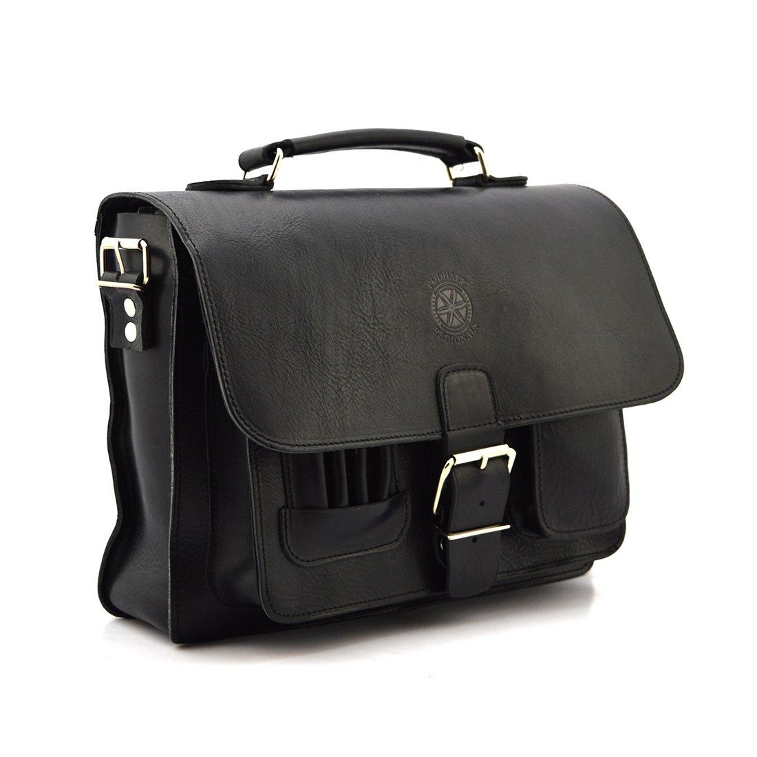 adea188e484cd Klasyczna torba Podhale Regionals b919 deepblack - Skóra juchtowa premium    deepblack - Kup teraz Online