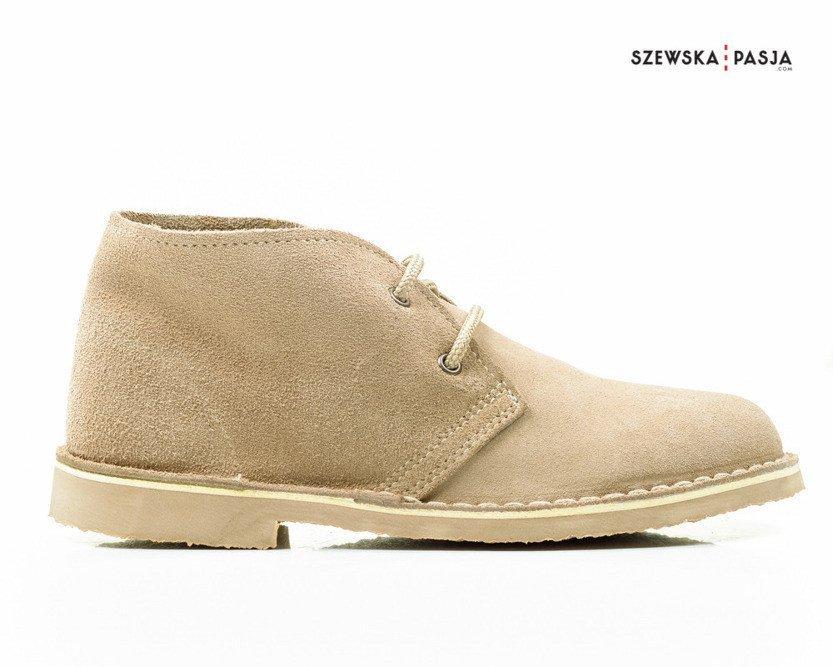0ec7e34c Klasyczne zamszowe buty desert damskie, botki - - Kup teraz Online ...
