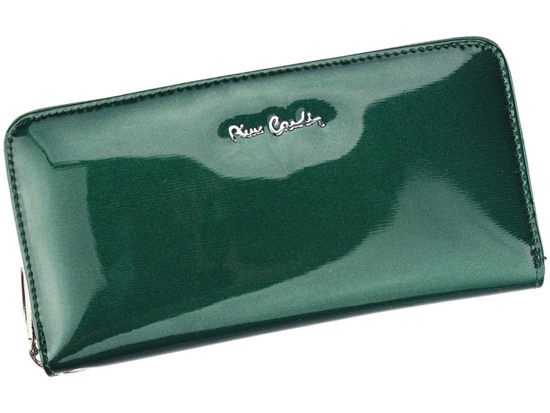 0c05cc029aed7 Pierre Cardin 05 LINE 118 - zielony   skóra naturalna - Kup teraz Online
