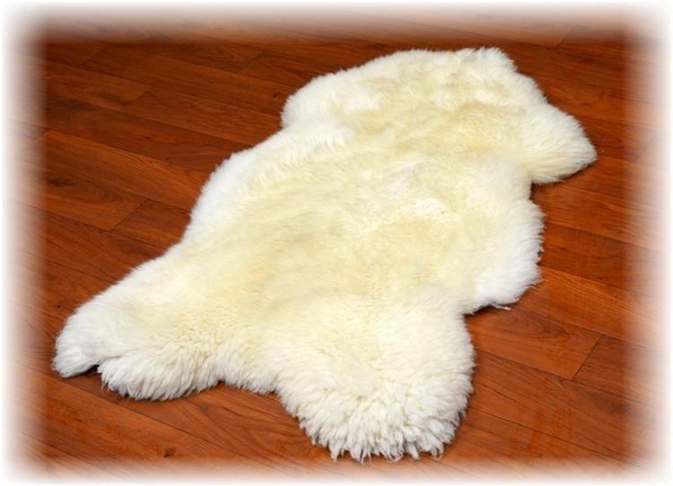 9b28eb98c3513 Skóra owcza biała - Naturalny włos   Biała - Kup teraz Online