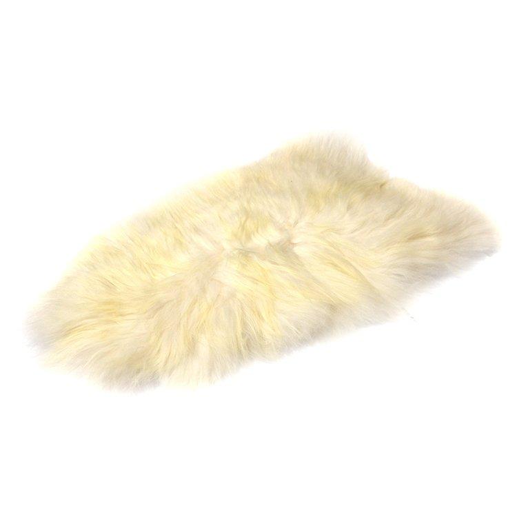 e27fb647d96e9 Skóra owcza biała na długim włosiu - Naturalny włos   Biała - Kup ...