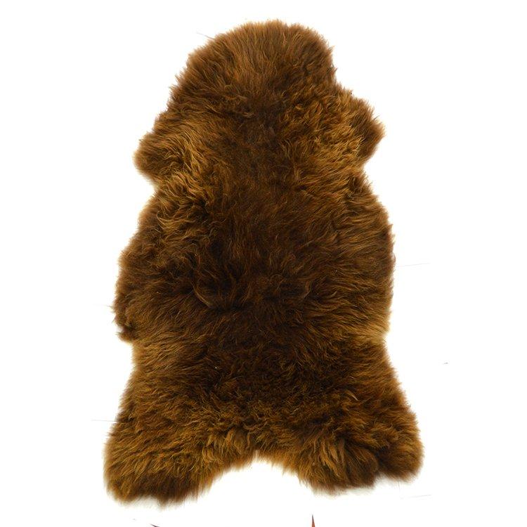 fb5291b28b579 Skóra owcza naturalna brązowa - Naturalny włos   Brązowy - Kup teraz Online