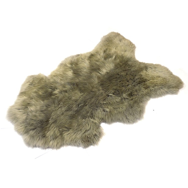 1aa89dcc4ab21 Skóra owcza szara - Naturalny włos   Szara - Kup teraz Online