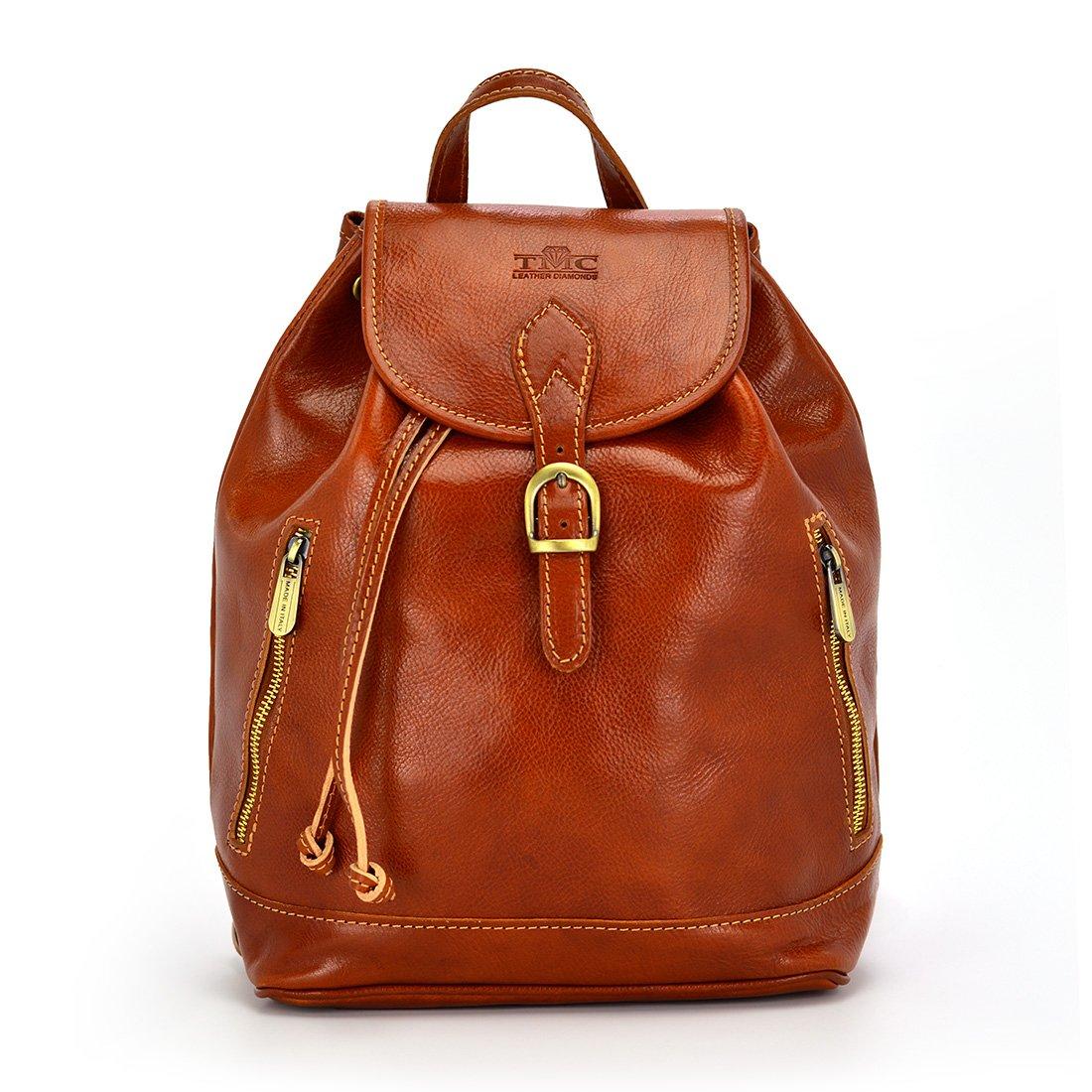 3c7fb02e1fa5f Torebka-plecak vp422c Camel - Miękka cielęca skóra   Camel - Kup teraz  Online