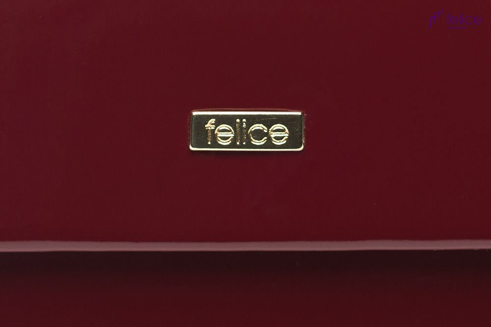 0512fb04c150b Ciemnoczerwona damska kopertówka Felice F14 - Torebki Merlitz - TMC ...